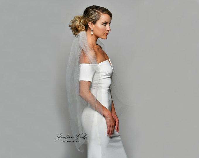 Wedding Veil, Bridal Veil Veil, Multiple Lengths and Colors, Customized Wedding Veil SC