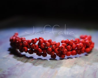 Rowanberry headband of cold porcelain everyday or special occasion women hair accessories