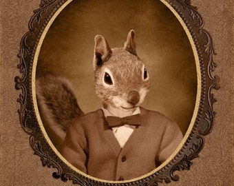 CUSTOM ORDER for Arlina - 2 8x10 squirrel prints mailed to USA