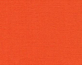 8.5 oz Brushed Canvas Solid Fabric - Sunkist - Sold by the 1/2 Yard