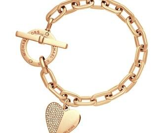 Trendy Heart Metal Bracelet
