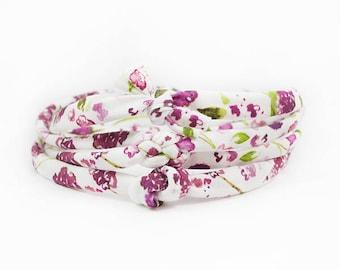 Baby Knot Headband, Small Knot Headband, Floral Headband, Boho Headband, Celtic Knot Headband, Baby Bow, Newborn Headband, Top Knot