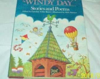 Windy Day Stories and Poems Hardcover – 1988 (Like New)