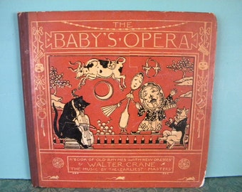 The Baby's Opera by Walter Crane - A Book of Old Rhymes with New Dresses 1877
