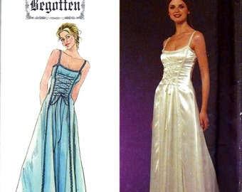 Simplicity BEGOTTEN Dress Renaissance Costume Prom Evening Gown Sewing Pattern 8983 Size 4 6 8 10 12