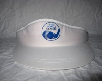 Vintage The Honda Classic Sun Visor Adjustable Hat