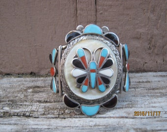 Vintage Zuni Cuff by Theodore Edaakie-NOW ON SALE!    Layaway Available