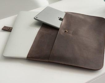 Leather Laptop Sleeve,Macbook Pro 13 Case,Macbook Pro Cover,Macbook Air 13 Case,Macbook Sleeve,Macbook Pro 15 2017 Case,Macbook Air 11 Case