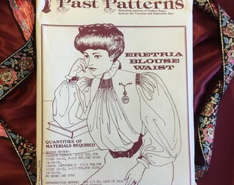 Vintage Late 19th Century Blouse Pattern (Uncut)