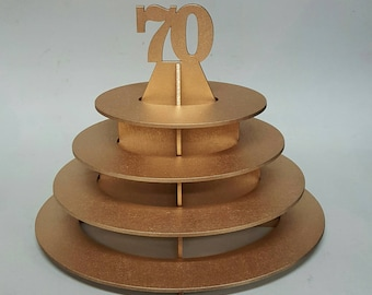Ferrero Rocher chocolate tower stand - Gold