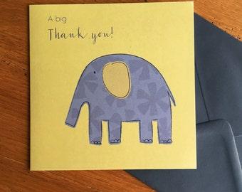 Big thank you card