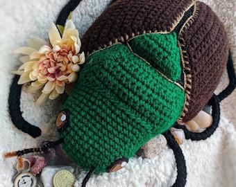 Japanese Beetle Plushie