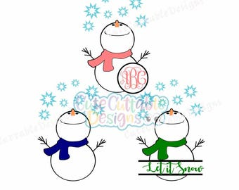 Looking up Snowman svg Monogram Frame svg, Split frame, snowmen iron on printable PNG. SVG, DXF, Eps, cut file, snowman cut file
