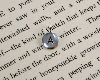 """Sterling Silver Letter  """"A"""" Charm"""