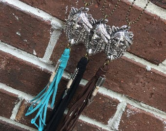 Indian Head Necklace