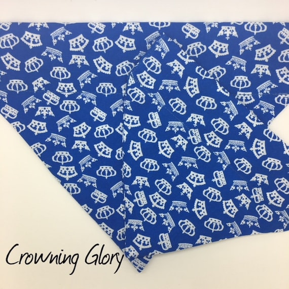 Dog Bandana, Crowning Glory, Crown Dog Bandana, Dog Neckerchief, Luxury Dog Bandana
