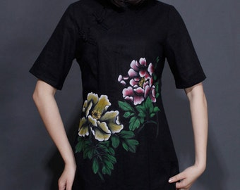 long sleeve maxi dress womens maxi dresses womens plus size dresses womens hand painted dresses plus size dress womens summer dress
