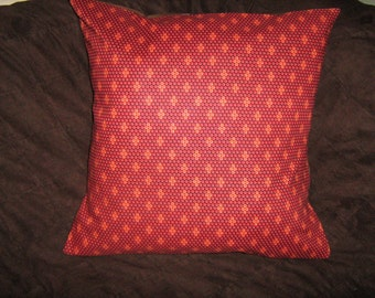 RUST BEADED LOOK Southwest Pillow  Cover