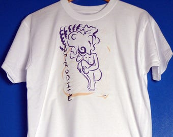 T Shirt with Aphrodite Design By  Aster Bell