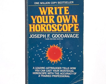 Write Your Own Horoscope Vintage Occult Book