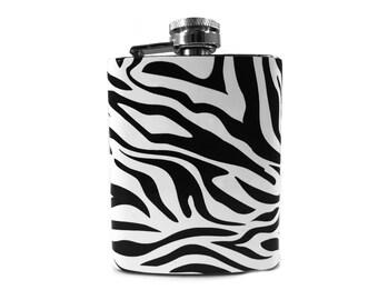 Zebra Flask