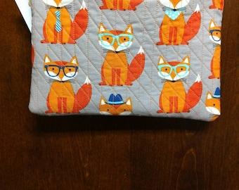 Adorable child's fox purse
