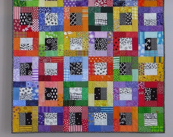 Color Blocks wall quilt