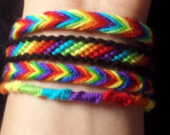 The Rainbow Pride Bracelet Collection