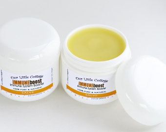 IMMUNE BOOST Salve, IMMUNEboost Essential Oil, Salve, Balm, Grave Robber, Healing Balm, Bandit, Protect, Pirate, Essential Oil, Immunity