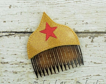 Amazing Woman Hair Comb