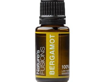 Bergamot Essential Oil 15ml – Citrus Bergamia - 100% Pure