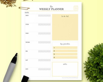 The Weekly Planner - Single Insert - The Ultimate Planner