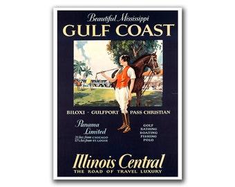 Travel Poster Polo Art Print Vintage Home Decor (H163)