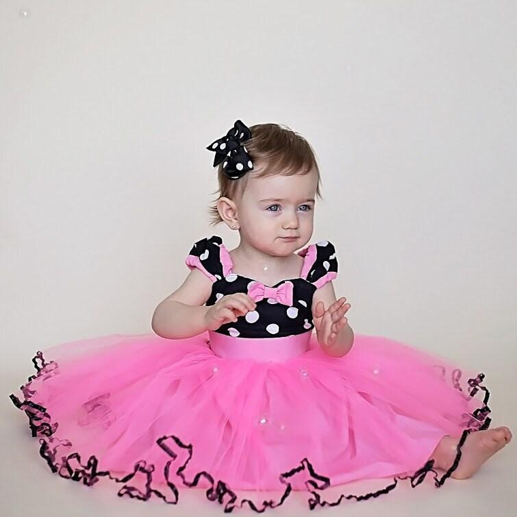 MINNIE MOUSE vestido TUTU Minnie Mouse Vestido de fiesta en