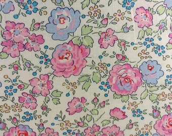 FELICITE  C  1.00 Metre in PINKS The LATEST Colours on Liberty Tana Lawn Cotton