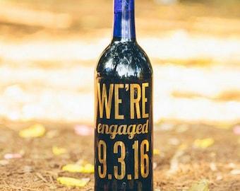 CUSTOM Gold Foil Labels, Wedding Wine Labels, Gold Wine Labels, Mr. & Mrs. , Wedding Wine, Couples Shower, Engagement Party