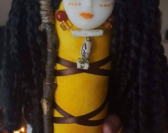 Sun Goddess Spirit Doll