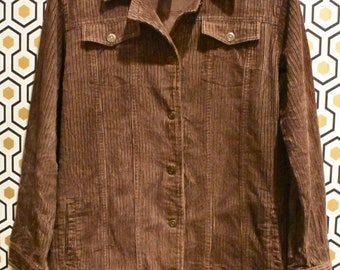 Brown Corduroy Shirt