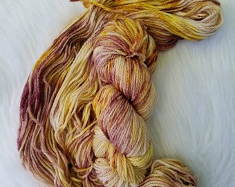 Antique, Aran/Worsted, 100% Superwash Merino, 181 yards/100g, 19.5 micron, hand dyed yarn, indie dyed yarn