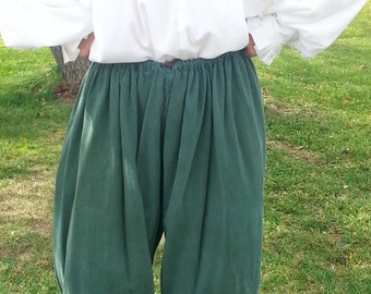 Renaissance Pirate Cosplay SCA LARP drawstring pants
