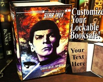Star Trek Gift Hidden Safe Gift for Son Gift Stash Box Birthday Gift for Boyfriend Gift Personalized Graduation Gift for Men Secret Storage