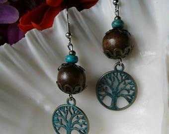 Bohemian Tree Earrings