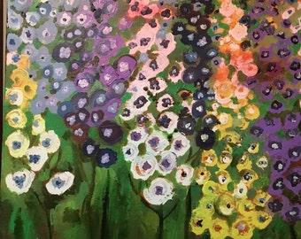 Garden flowers in the Summer