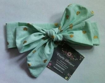 Cotton head wrap