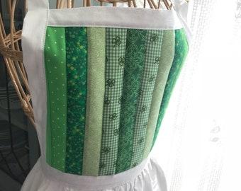 St.Patricks Victorian  apron