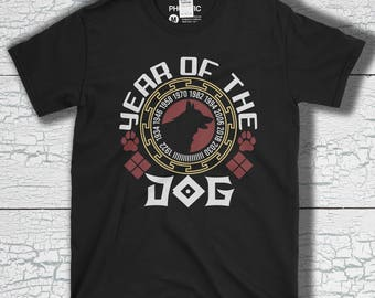 2018 Chinese New Year The Year Of The Dog - Year Of The Dog 2018 Chinese New Years T-Shirt Short-Sleeve Unisex T-Shirt