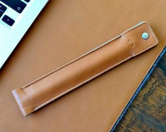 Apple Pencil Case, Apple Pencil holder, Leather Apple Pencil Case with Felt Lining, Surface Pen Case