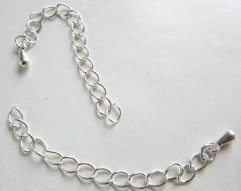 CHAIN EXTENSION about 6cm, silver