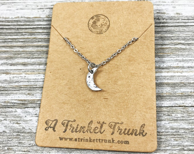 Crescent Moon- Necklace