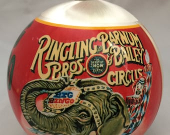 Ringling Brothers and Barnum Bailey Circus Big Bingo Giant Two Story Elephant